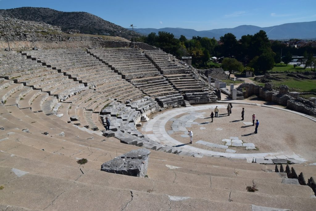 Philippi theater 2017 Greece Tour
