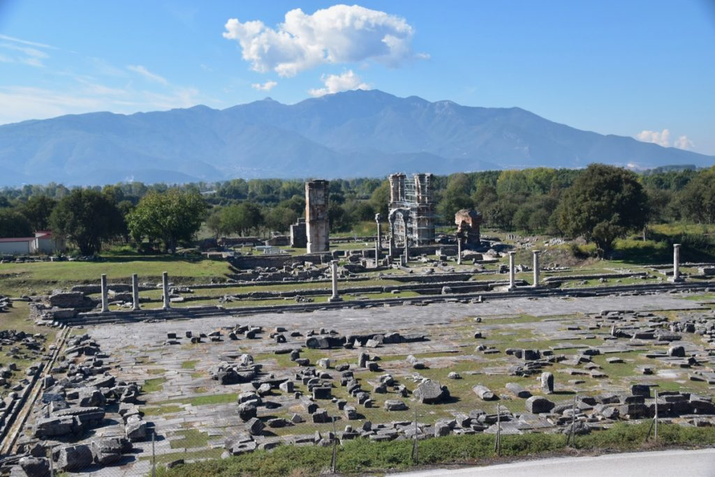Philippi agora 2017 Greece Tour
