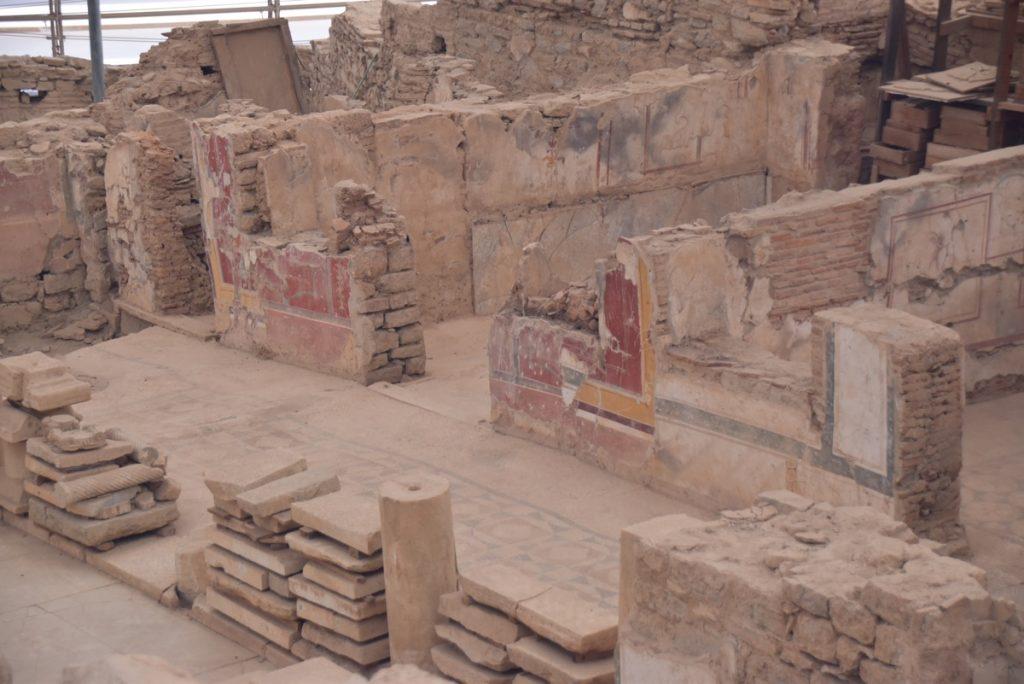 Ephesus houses October 2017 Greece Tour - Dr. DeLancey