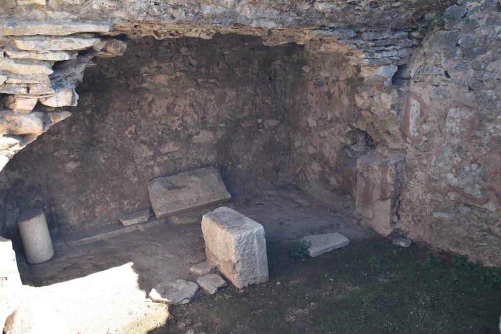 Philippi jail of Paul 2017 Greece Tour