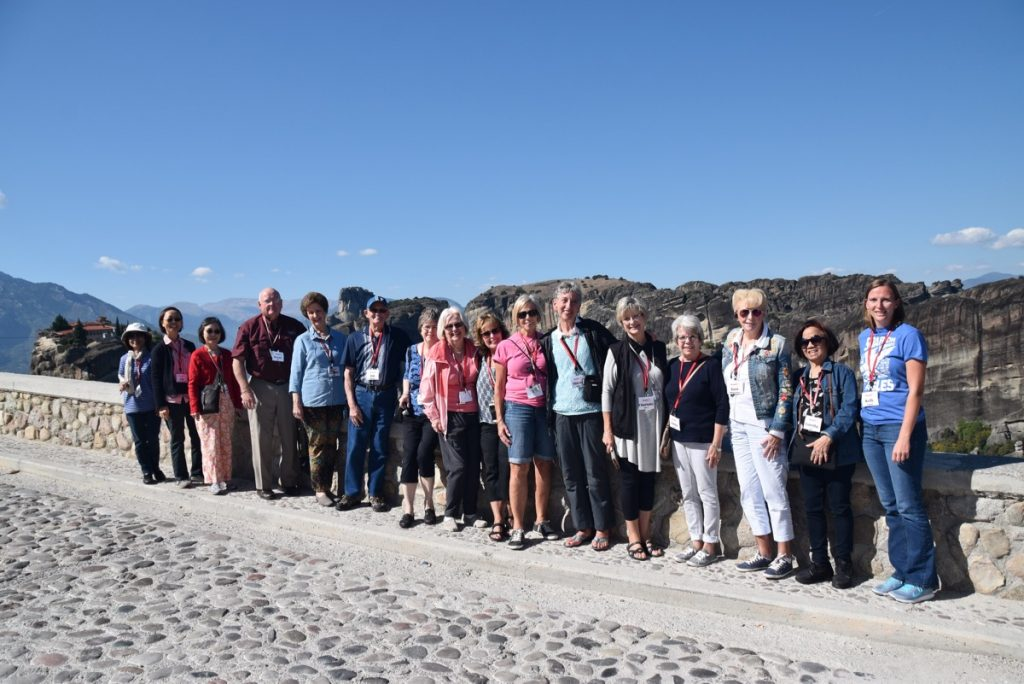 Meteora October 2017 Greece Tour - Dr. DeLancey