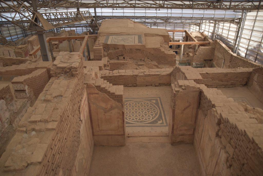 Ephesus houses Turkey October 2017 Greece Tour - Dr. DeLancey