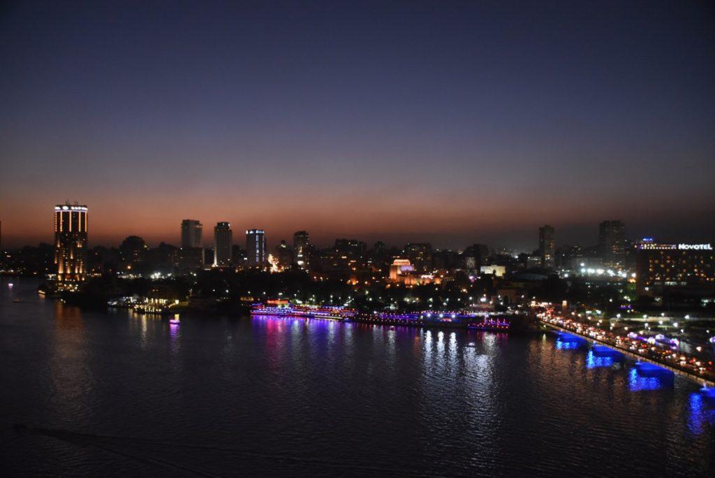 Cairo Egypt Nile River Oct-Nov 2017 Egypt-Jordan-Israel Tour