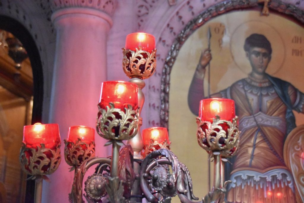 Thessaloniki St. Demetrios Church October 2017 Greece Tour