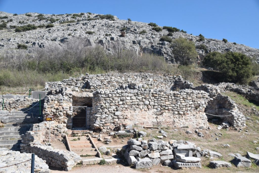 Philippi prison of Paul and Silas 2017 Greece Tour