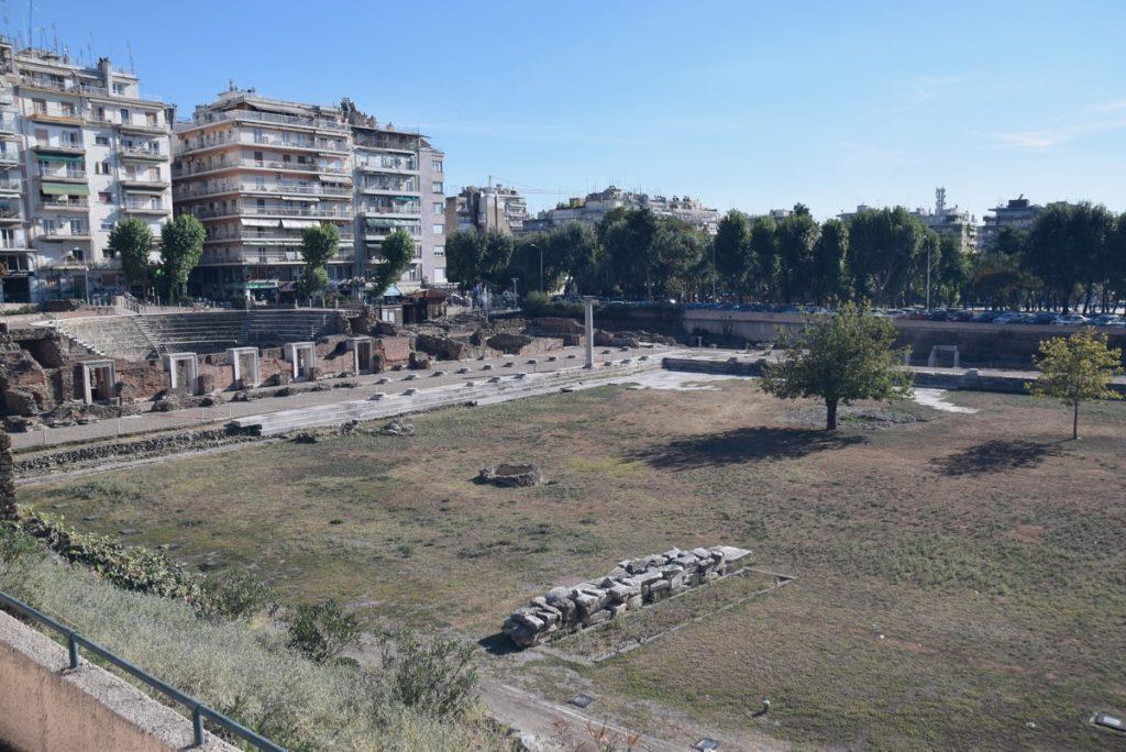 Thessaloniki Agora October 2017 Greece Tour
