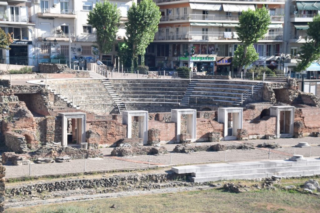 Thessaloniki Agora October 2017 Greece Tour