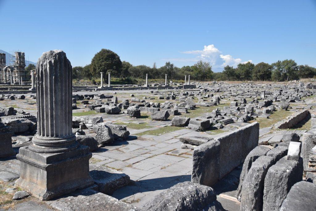 Philippi agora 2017 Greece Tour
