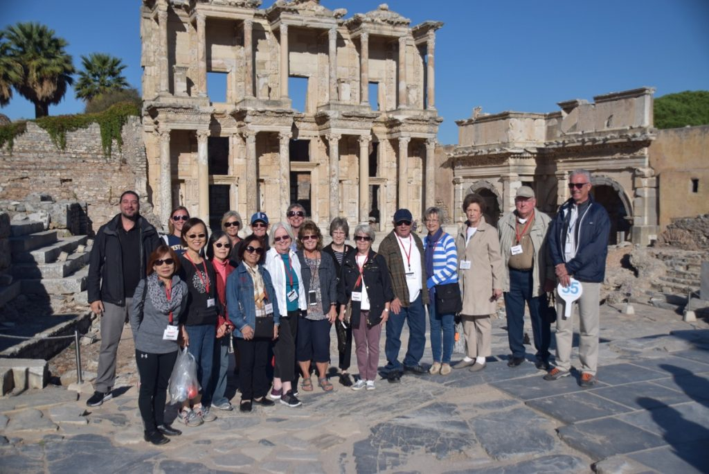 Ephesus October 2017 Greece Tour - Dr. DeLancey