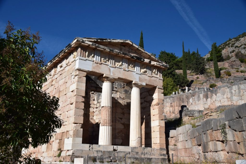 Delphi - Treasure of Athena October 2017 Greece Tour - Dr. DeLancey
