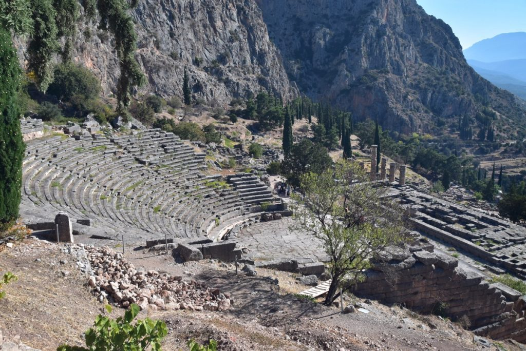 Delphi October 2017 Greece Tour - Dr. DeLancey