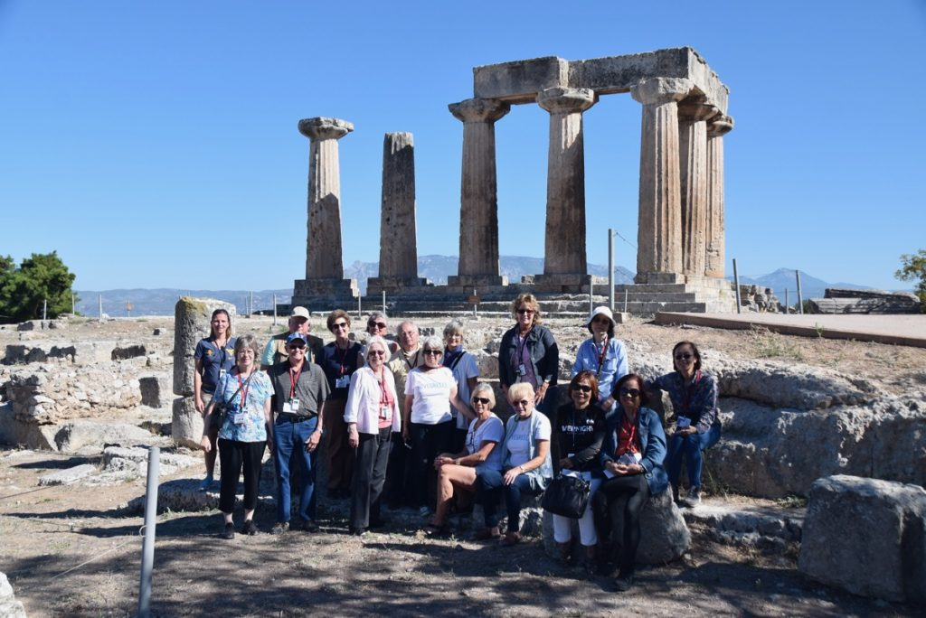 Corinth October 2017 Greece Tour - Dr. DeLancey