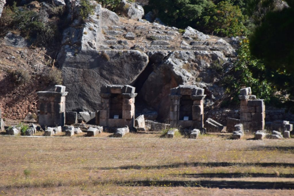 Delphi stadium October 2017 Greece Tour - Dr. DeLancey