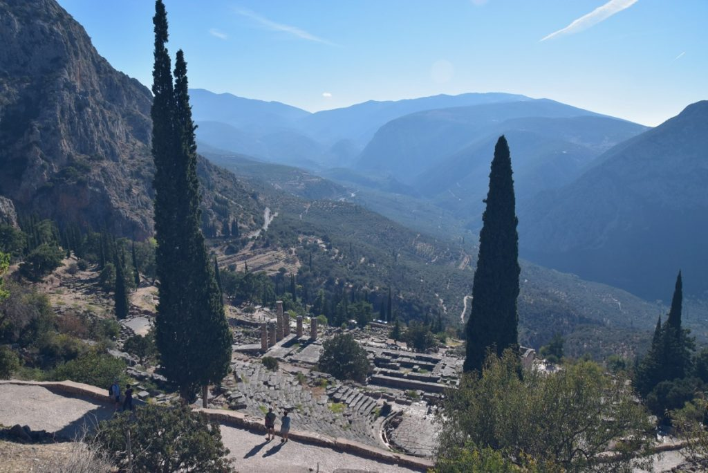 Delphi Greece October 2017 Greece Tour - Dr. DeLancey