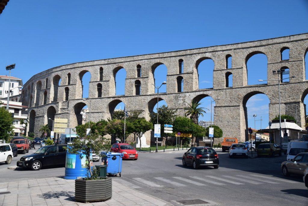 Kavala aquaduct 2017 Greece Tour