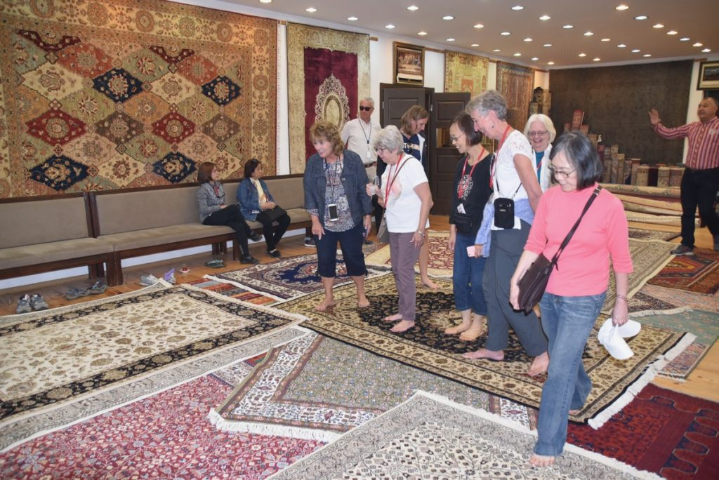 Turkish carpets Turkey October 2017 Greece Tour - Dr. DeLancey
