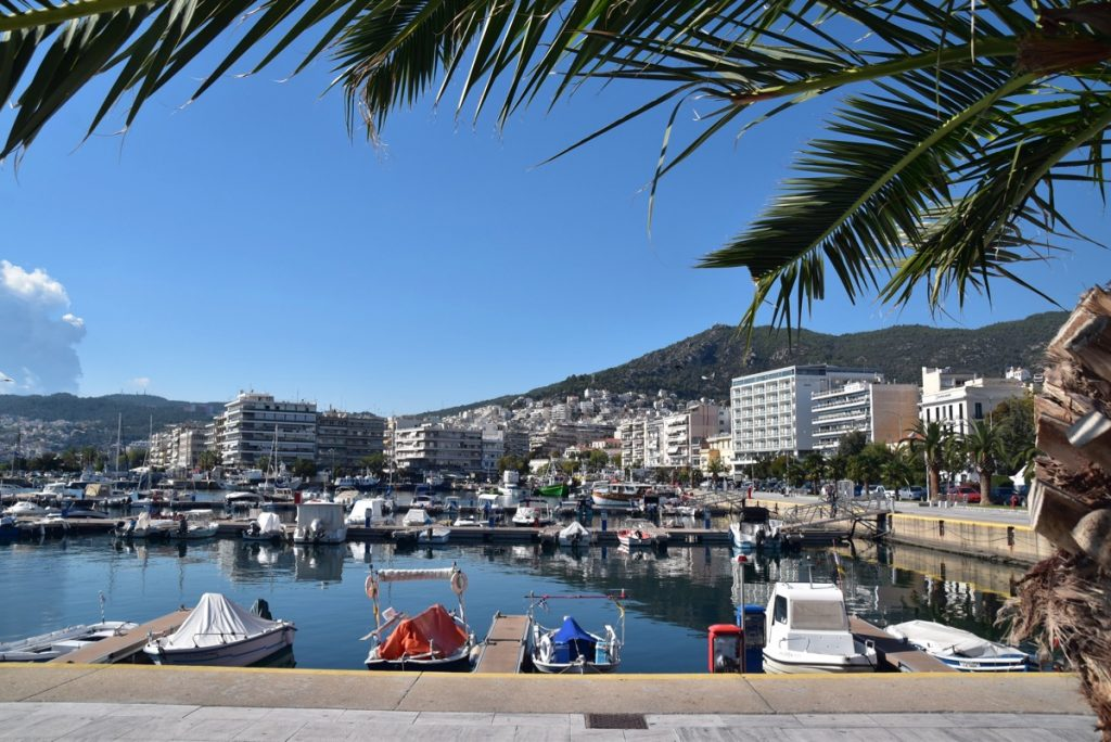Kavala harbor 2017 Greece Tour
