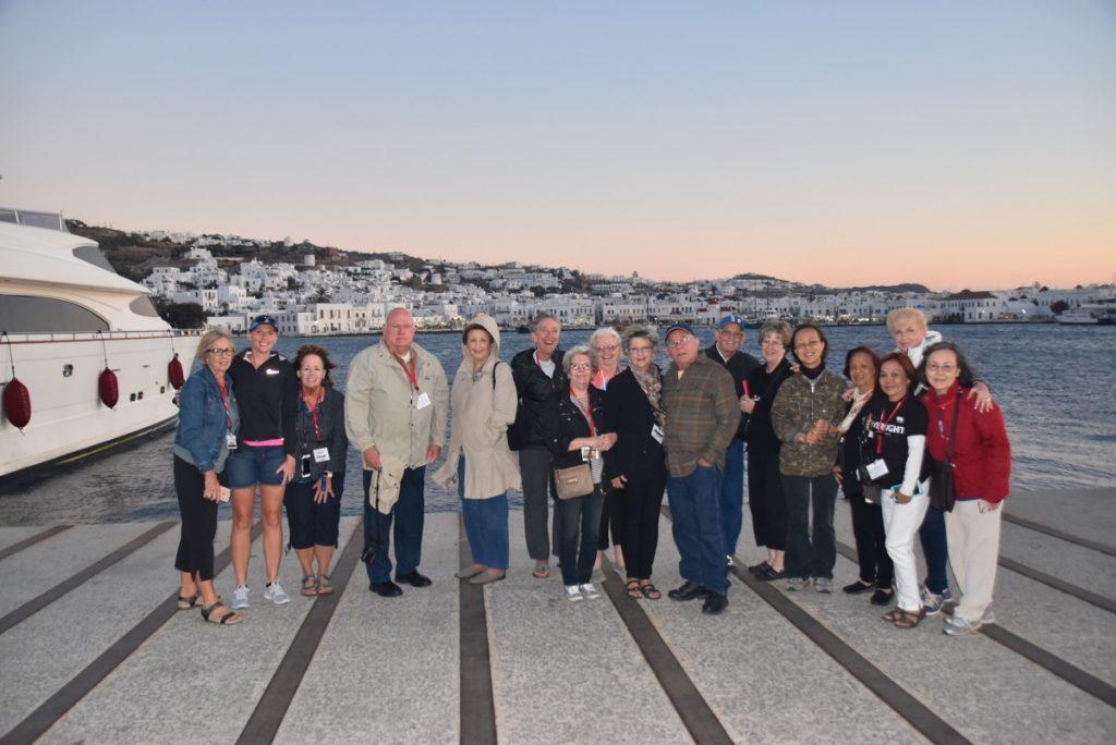 Mykonos October 2017 Greece Tour - Dr. DeLancey