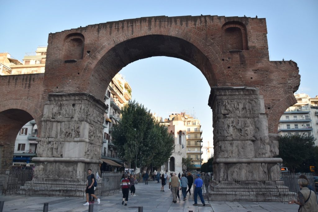 Arch of Thessalonica 2017 Greece Tour