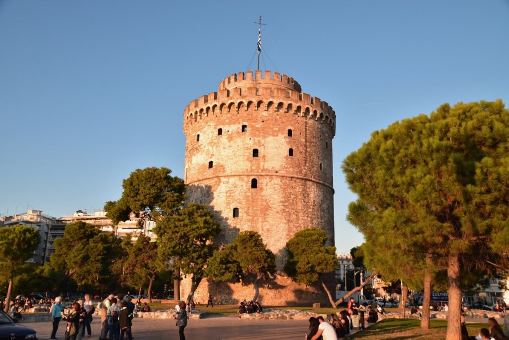 White Tower Thessaloniki 2017 Greece Tour