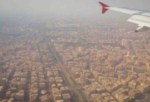 Flight into Cairo