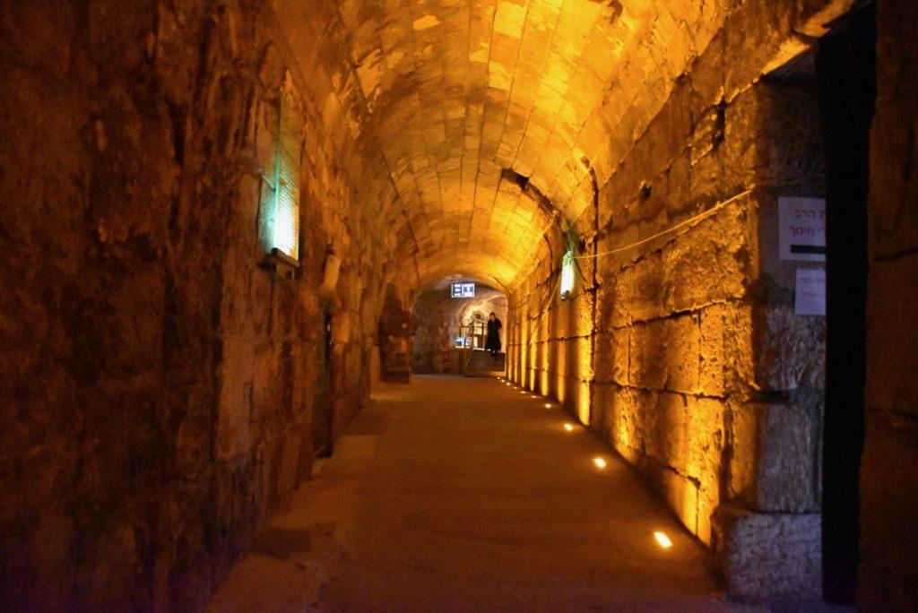 Western Wall Tunnel Oct-Nov Egypt-Jordan-Israel Tour
