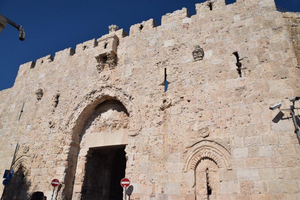 Zion's Gate Jerusalem Oct-Nov Egypt-Jordan-Israel Tour