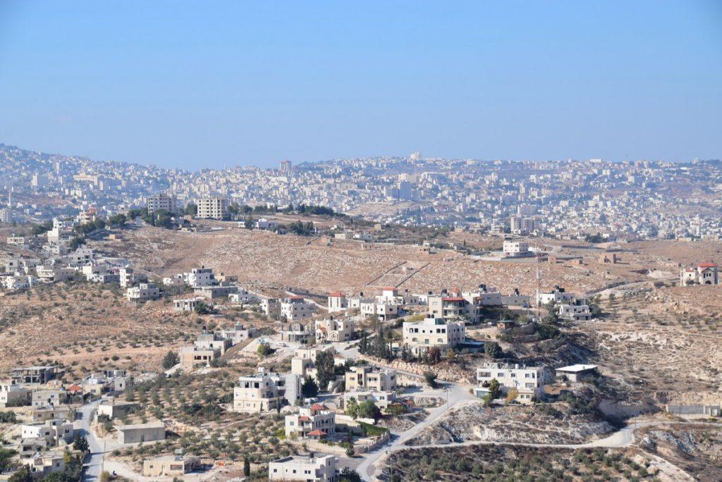 Herodium view of Bethlehem Oct-Nov Egypt-Jordan-Israel Tour