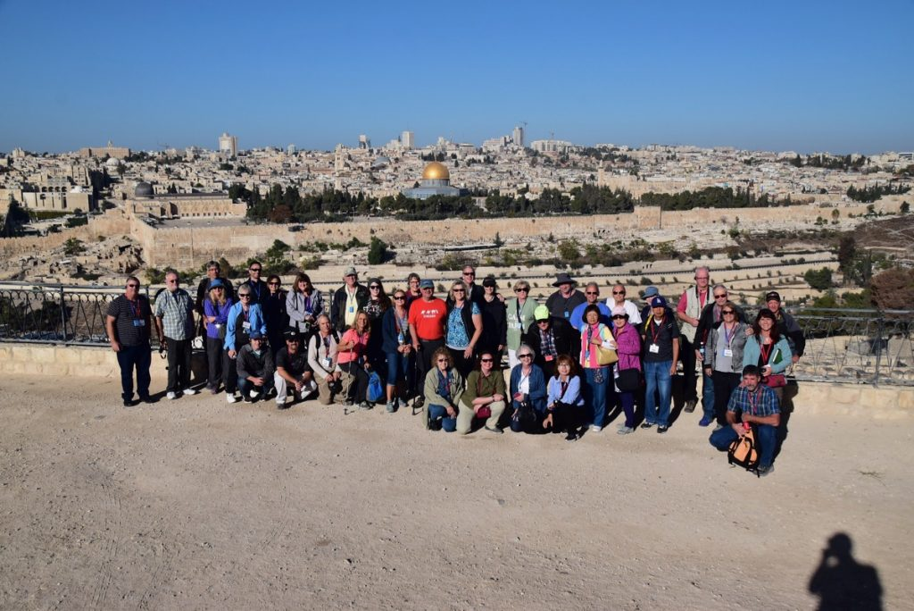 Mt. of Olives Oct-Nov 2017 Egypt-Jordan-Israel Tour Dr. DeLancey
