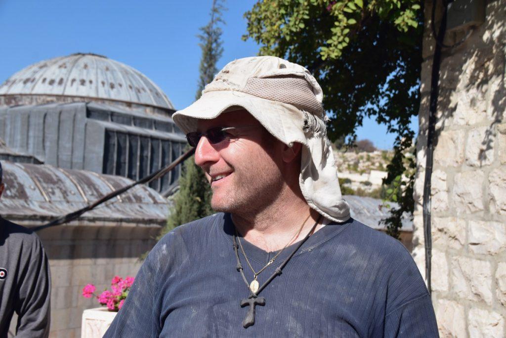 Father Diego Oct-Nov Egypt-Jordan-Israel Tour - John DeLancey