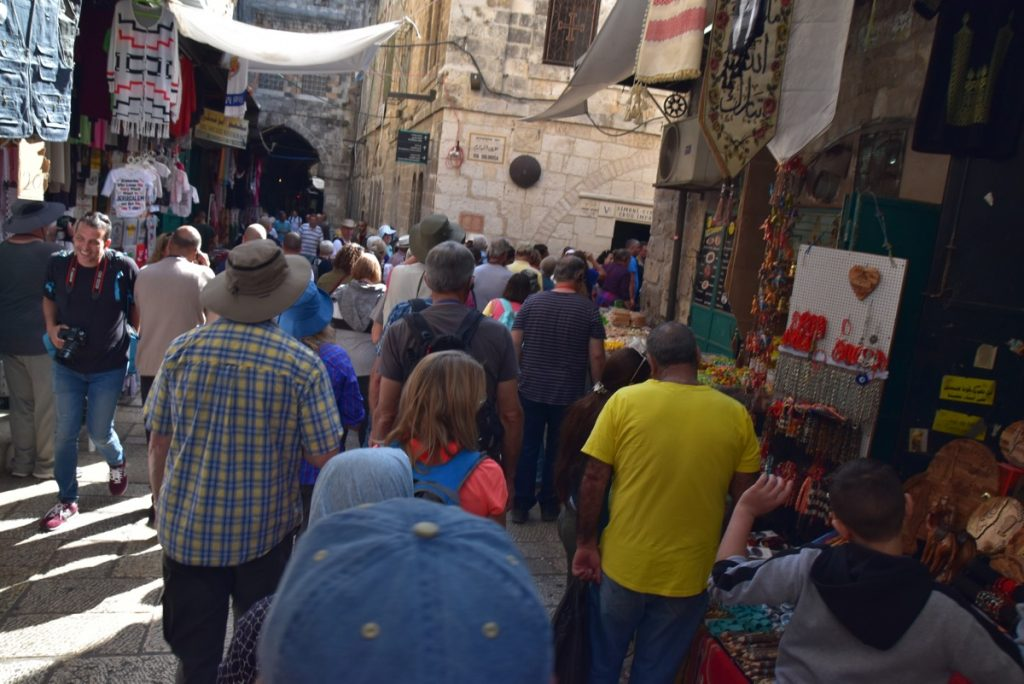 Jerusalem Old City Oct-Nov Egypt-Jordan-Israel Tour - John DeLancey