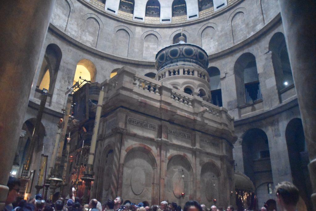 Jerusalem Holy Sepulcher Oct-Nov Egypt-Jordan-Israel Tour - John DeLancey