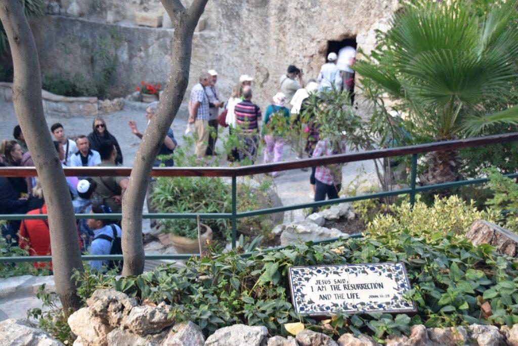Jerusalem Garden Tomb Oct-Nov Egypt-Jordan-Israel Tour - John DeLancey