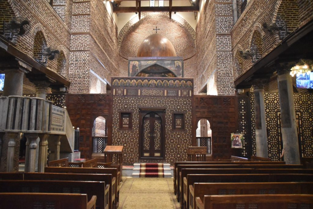 Coptic Church Cairo Oct-Nov 2017 Egypt-Jordan-Israel Tour with Dr. DeLancey