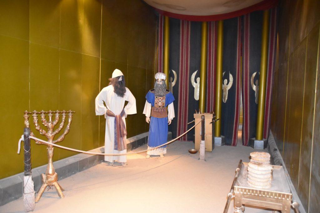 Timnah Tabernacle - Oct-Nov 2017 Egypt-Jordan-Israel Tour - Dr. DeLancey