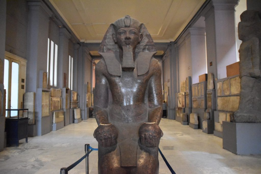 Egyptian Museum Cairo Oct-Nov 2017 Egypt-Jordan-Israel Tour with Dr. DeLancey