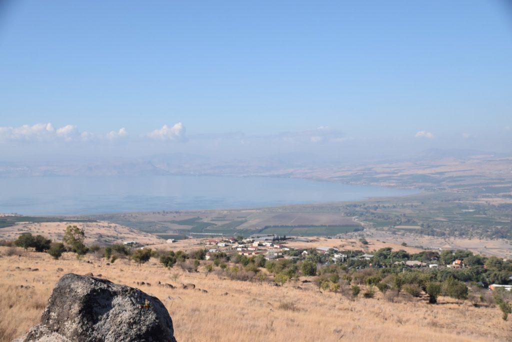 Sea of Galilee Oct-Nov Egypt-Jordan-Israel Tour with Dr. John DeLancey