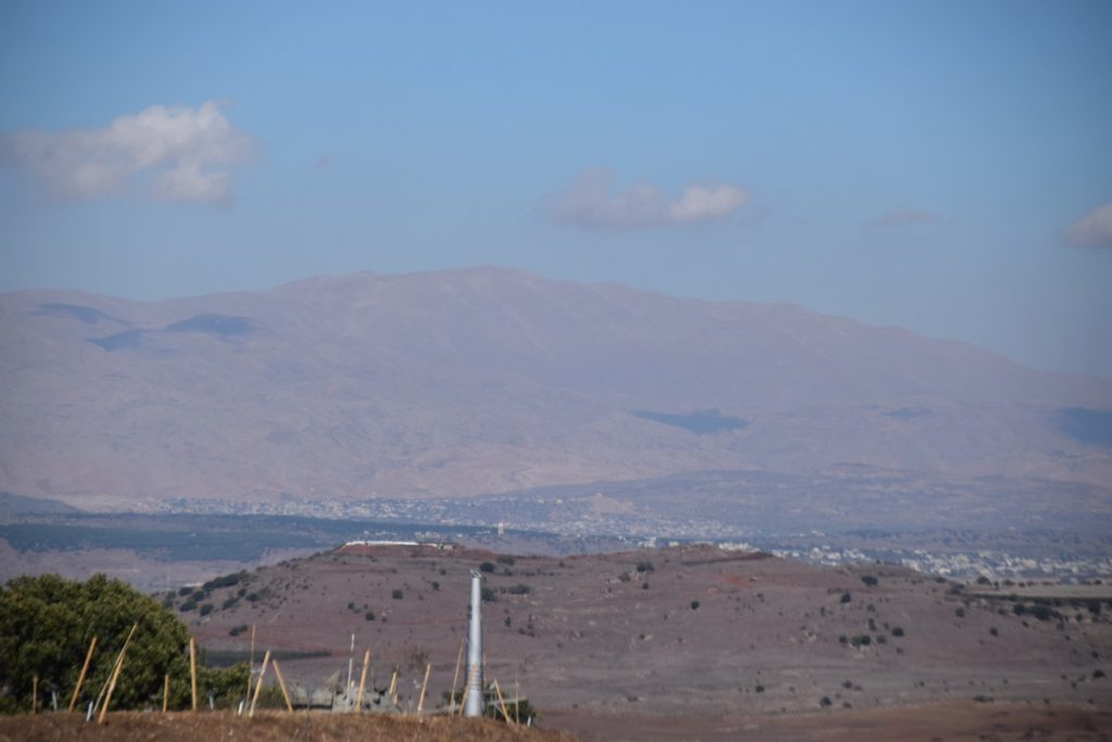 Mt. Hermon Oct-Nov Egypt-Jordan-Israel Tour with Dr. John DeLancey