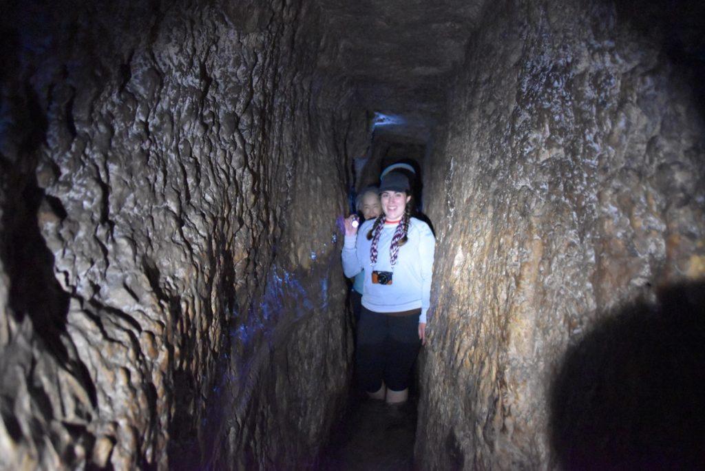 Hezekiah's Tunnel Oct-Nov 2017 Egypt-Jordan-Israel Tour