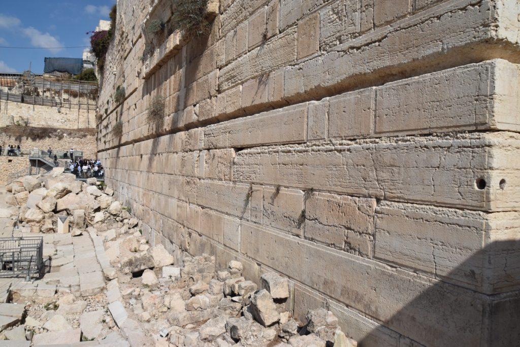 southern wall excavations Oct-Nov 2017 Egypt-Jordan-Israel Tour