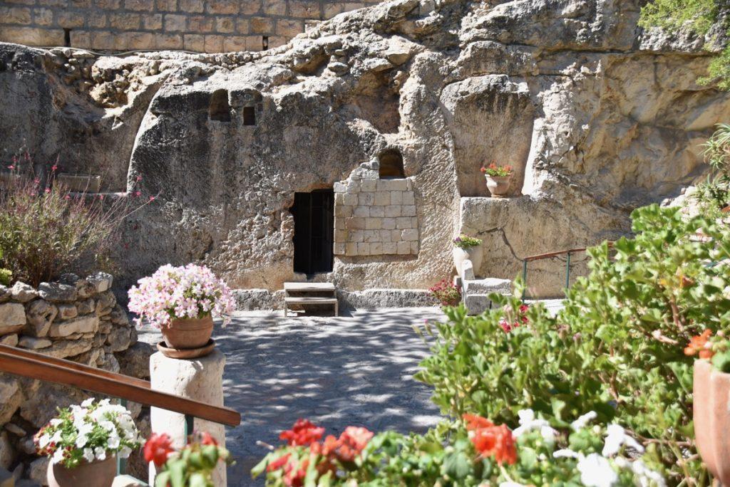 Garden Tomb Jerusalem Oct-Nov Egypt-Jordan-Israel Tour - John DeLancey