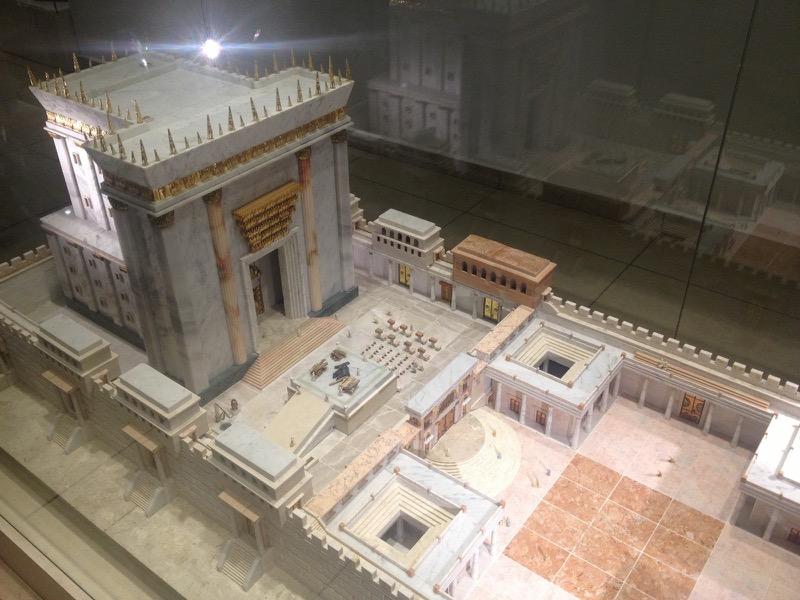 Temple Institute Model Western Wall Oct-Nov Egypt-Jordan-Israel Tour