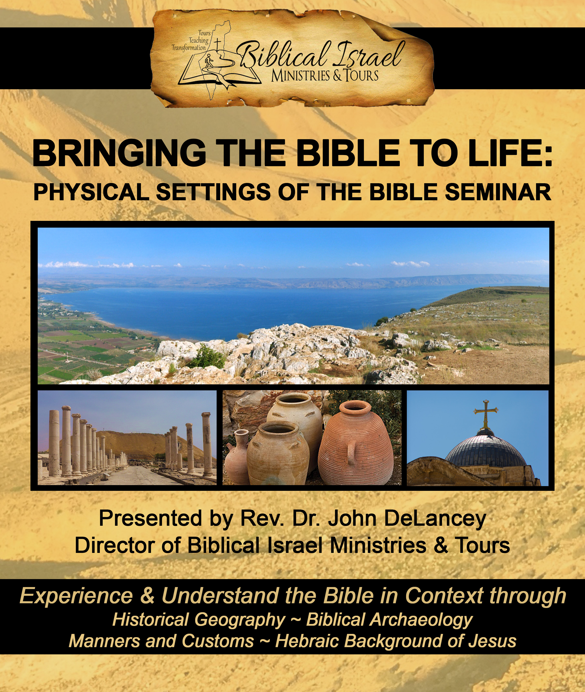 "Pastor's ""Bringing the Bible to Life"" Conference"
