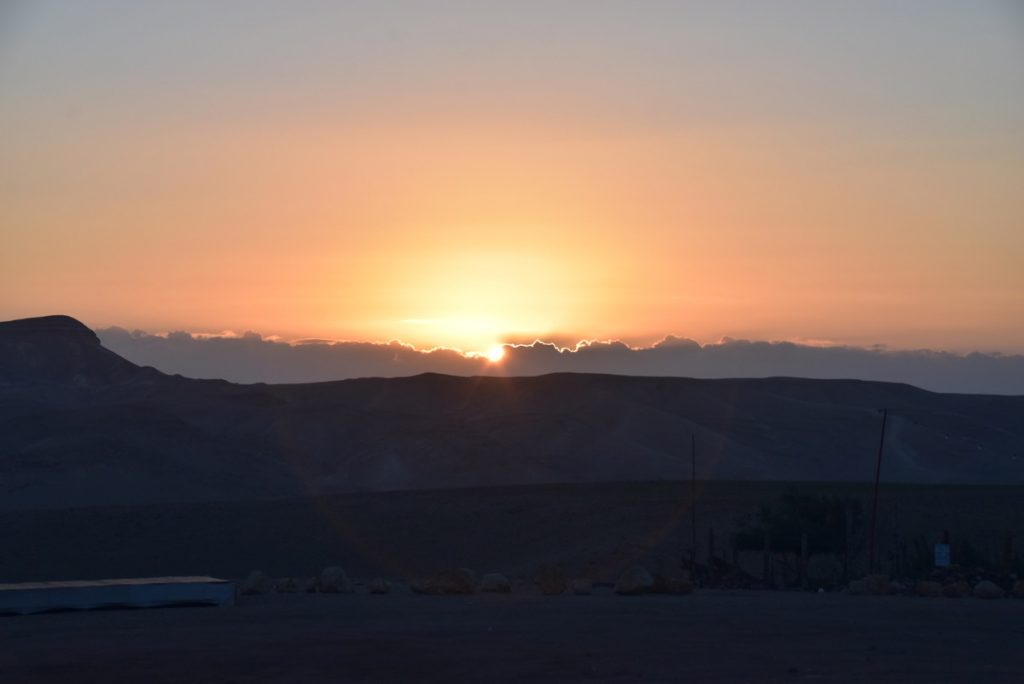 Sunrise Judean Desert January 2018 Israel Tour