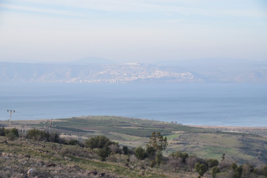 Sea of Galilee January 2018 Israel Tour