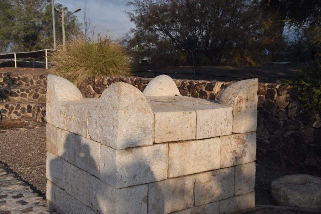 Beersheba altar January 2018 Israel Tour