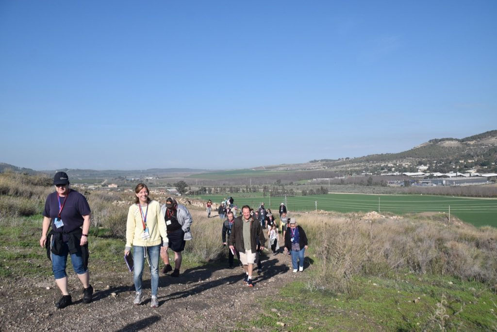 Beth Shemesh Sorek Valley January 2018 Israel Tour