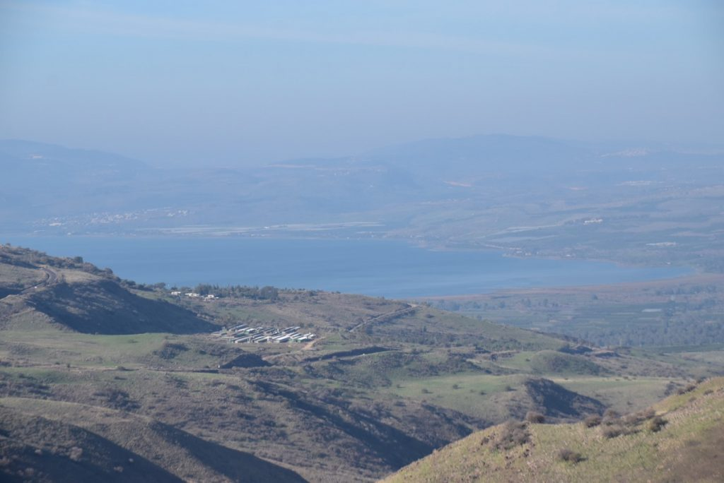 Gamla and Sea of Galilee January 2018 Israel Tour