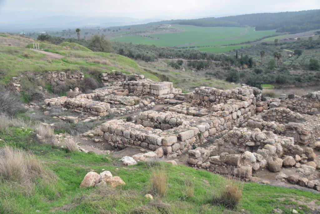 Gezer Solomonic gate January 2018 Israel Tour