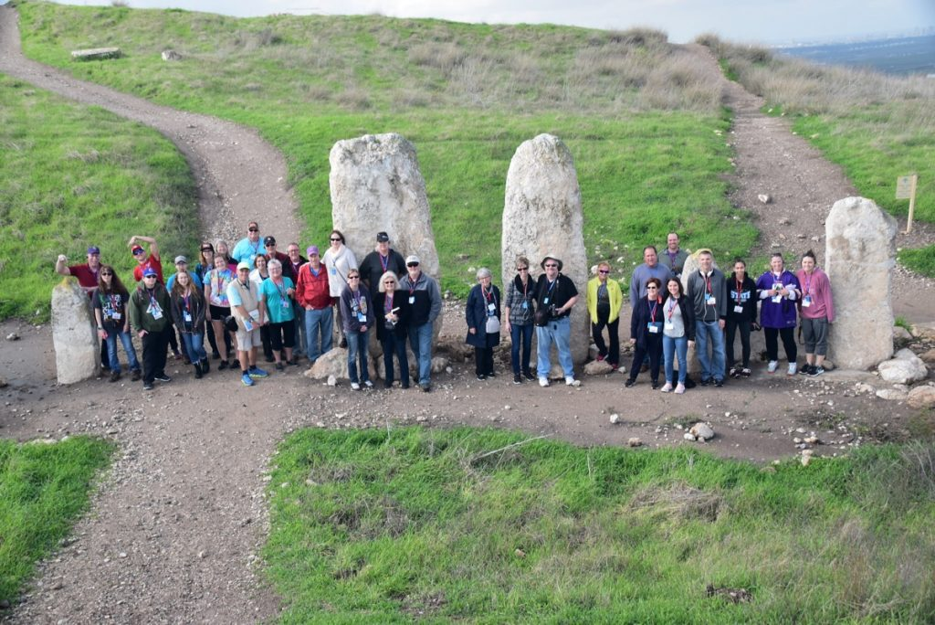 Tel Gezer January 2018 Israel Tour Group with Dr. John DeLancey